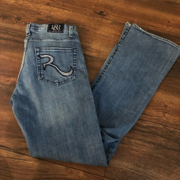 "Rock & Republic Denim - Rock & republic jeans size 6 ""kasandra"""